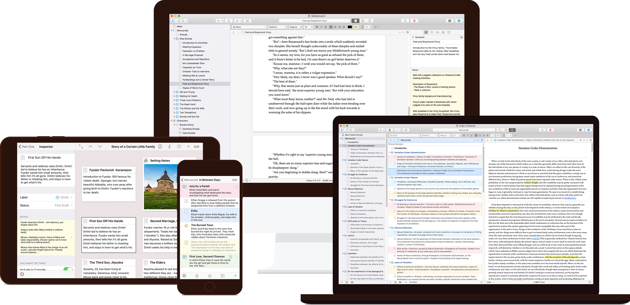 Scrivener 3, das ultimative Autorentool