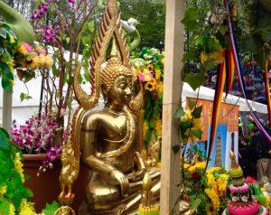 Der Buddha ist im Westpark dahoam